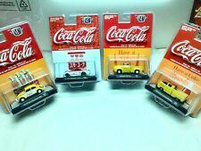 M2 Machines Coca Cola 4 Car Grouping 1:64 New