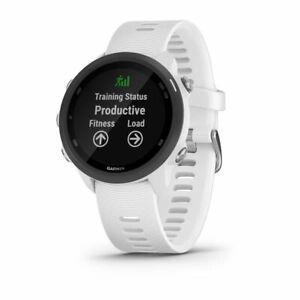 Watch Cardio To Wrist GPS Running Outdoor garmin Forerunner 245 Music White