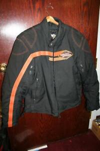 Harley Davidson Mens Padded Riding Jacket Sz XL Excellent Condition