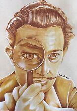 Salvador Dali Drawing. Original Fan-ART .new