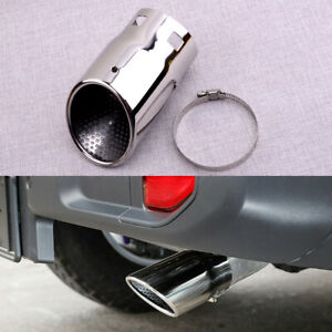 Rear Tail Exhaust Pipe Tip Fit For Jeep Wrangler JK JL 2007-2020 Compass 2017-20
