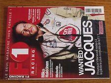 $$$ Revue F1 Racing N°19 Jacques VilleneuveMika HakkinenMichelinRoss Brawn