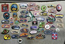 Large Lot NOS of 50 BSA Shoulder & Jamboree Merit Patches