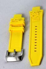 Invicta Subaqua Noma III Noma 3 - Poly/Rubber Strap 28mm -ORIGINAL - NEW -YELLOW