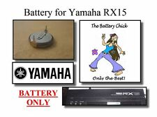 Battery for Yamaha RX15 Drum Machine - Internal Memory Replacement Battery
