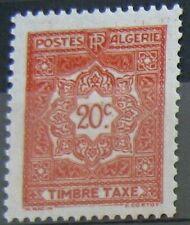 ALGERIE Taxe 35 - Neuf** sans charniere - Regroupez vos achats