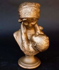 Vintage Mother & Child Chalkware