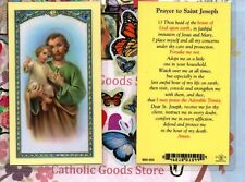 Prayer to Saint St. Joseph - Laminated Holy Card
