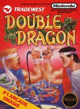 DOUBLE DRAGON Wall Poster (24 x 36 inch) Vintage Retro Promo Video Game A
