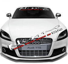 Car Front Windshield Window Exterior Glass Banner Decal Sticker For Nissan NISMO