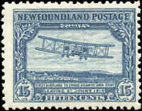 Mint Canada Newfoundland 1929-1931 F+ Scott #170 Stamp Hinged