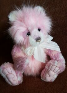 Charlie Bears Julia. 2020 Plumo. Ltd Ed. but only 1200 made* As new.