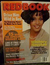 1995 May Redbook Magazine - Whitney Houston Cover - Fashion
