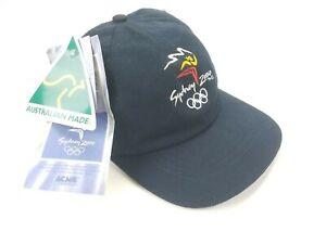 2000 Sydney Australia Olympic Games Australian Made Adjustable Snapback Hat Cap