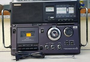 SONY CF-950S 5 BAND CASSETTE-CORDER  SW DUAL CONVERSION SYSTEM