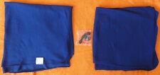 AIR BERLIN Fleece Decke und Kopfhörer Fluggesellschaft AirBerlin Blau
