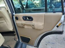 1999 2000 2001 2002 2003 2004 LAND ROVER DISCOVERY II RIGHT REAR DOOR PANEL TAN