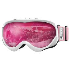OutdoorMaster OTG Kids Ski Goggles Over Glasses Ski/Snowboard for  Boys Girls