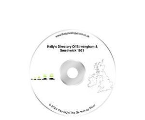Kelly's Directory Of Birmingham & Smethwick 1921