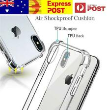 Case For iPhone XS MAX XR 7 6s 7Plus Clear Cover TPU Bumper Soft Slim Anti-shock