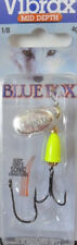 Blue Fox Vibrax Spinner 4 grams, Yellow  - Trout Redfin Lure