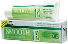 100 g. SMOOTH E Cream Vitamin E Plus Aloe Vera Reduce Scars Acne Free ShipTrack