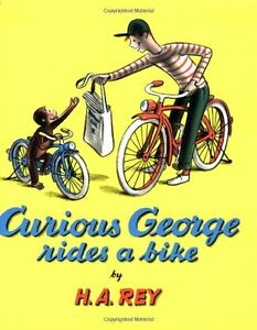Curious George Rides a Bike (Read Along Book & CD)