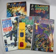 Lot of 5 Comic Books ~ Cyberforce Enemy Deathblow Scout Martha Washington