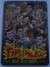 2015 AFL Select Firepower Caricature Card West Coast Checklist AC17