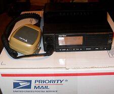 Vertex FTL-1011 VHF FM Ham Radio With Microphone & Bracket Powers On!