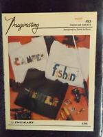 Fresh Air Sweats Cross Stitch Leaflet by Imaginating