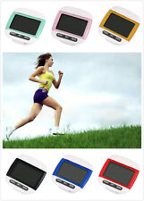 LCD Run Step Multifunction Digital Pedometer Walking Distance Calorie Counter CA