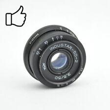 INDUSTAR-50-2 3,5/50 Objektiv Linse Lens M39 Industar 50-2 Black Kurz made USSR
