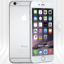 Apple Iphone 6 (64GB)  FACTORY UNLOCKED PHONE 4G LTE  IOS 9.4 HD Silver
