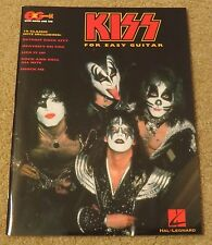 KISS FOR EASY GUITAR 18 TABS SONGBOOK NEW