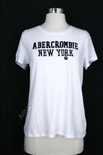 Abercrombie & fitch Woman T Shirt  Size Medium White NWT