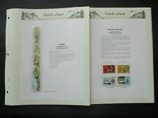 ESTATE: Norfolk Island Collection on Pages, Great Item! (p3547)