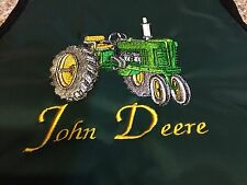 Waterproof Apron With Embroidered Tractor John Deer