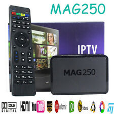 MAG250 HDTV IPTV HDMI 1080P Internet TV Set-top Box MEDIA PLAYER Streamer PC USB