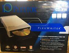 Plextor Plexwriter External Hi-Speed USB 2.0 CD-RW Drive 40/12/40U PX-W4012TU A5