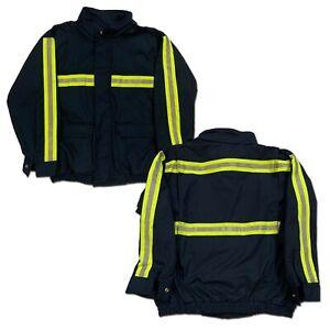 Red Kap Bomber Jacket Hi Vis Heavyweight Reflective Enhanced Vis Work Uniform