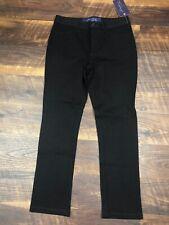 NWT NYDJ Not Your Daughters Jeans Brown SKINNY sz 8P PETITE Casual Career Pants