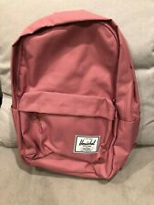 Herschel Supply Co. Classic Heather Rose Pink School Backpack Classic X-Large