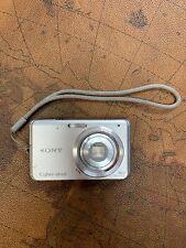 Sony Cybershot DSC-W180 10.1MP Digital Camera - Silver