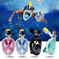 1PC Kid's Full Face Scuba Snorkeling Mask Diving Goggles Sea Swimming Mask