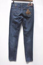 Vivienne Westwood Ladies Blue Denim Skinny Slim Jeans Size 26 31 New