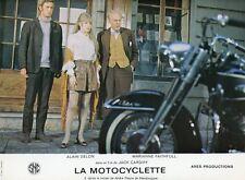 MARIANNE FAITHFULL LA MOTOCYCLETTE 1968 VINTAGE LOBBY CARD #3   HARLEY-DAVIDSON