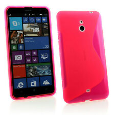 PINK S CURVE GEL CASE COVER FOR Nokia Lumia 1320