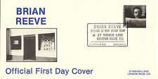(30051) GB Brian Reeve FDC Peter Sellars - londinese WC2 8 OTTOBRE 1985