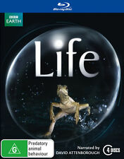 Life: BBC Earth (Blu-ray, 4-Disc Set)   Region Code B - Very Good Condition